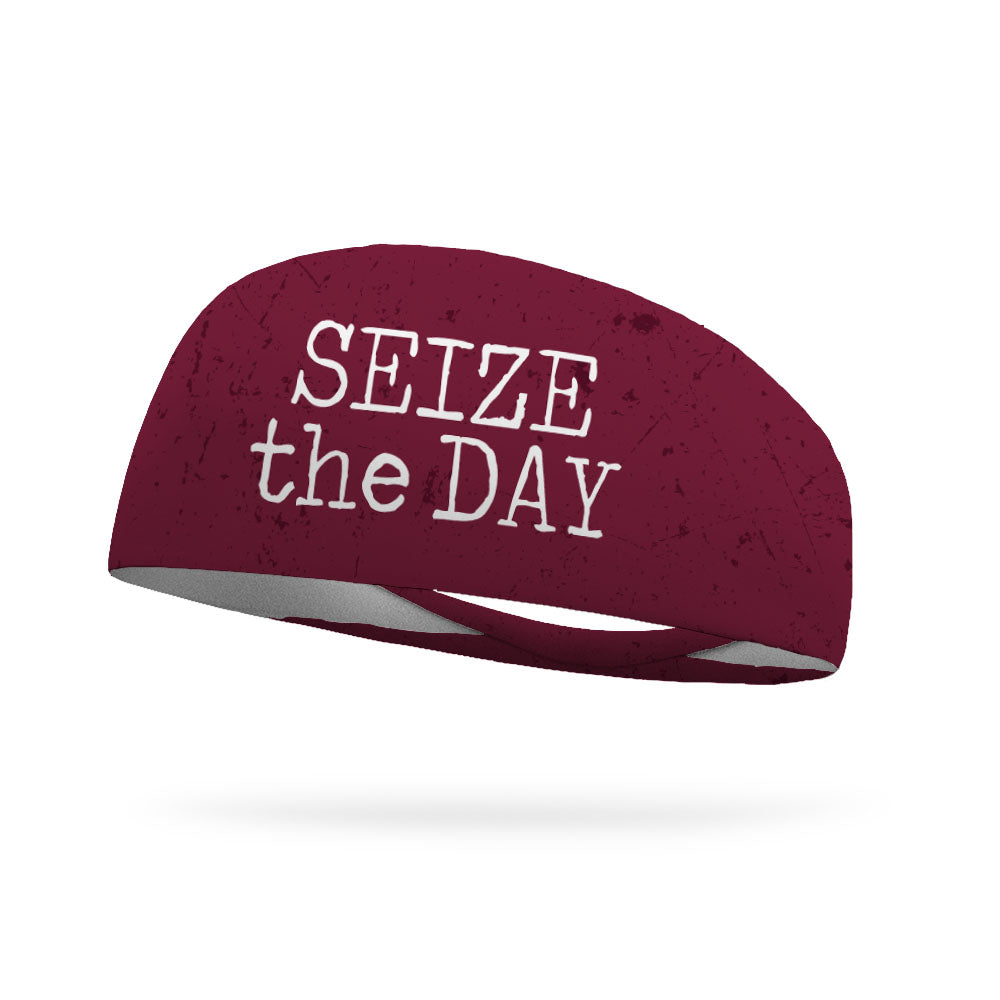 Seize The Day Wicking Performance Headband (Designed by Melissa Grandt)