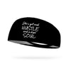 She's Got Mad Hustle Wicking Performance Headband