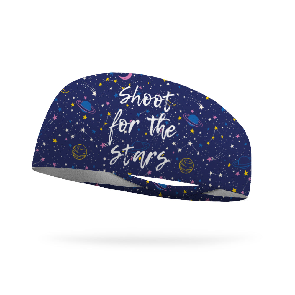 Shoot for the Stars Wicking Performance Headband