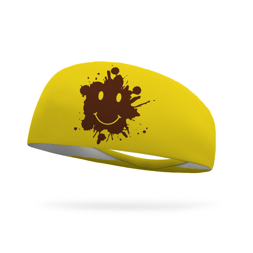 Smiley Gump Wicking Performance Headband