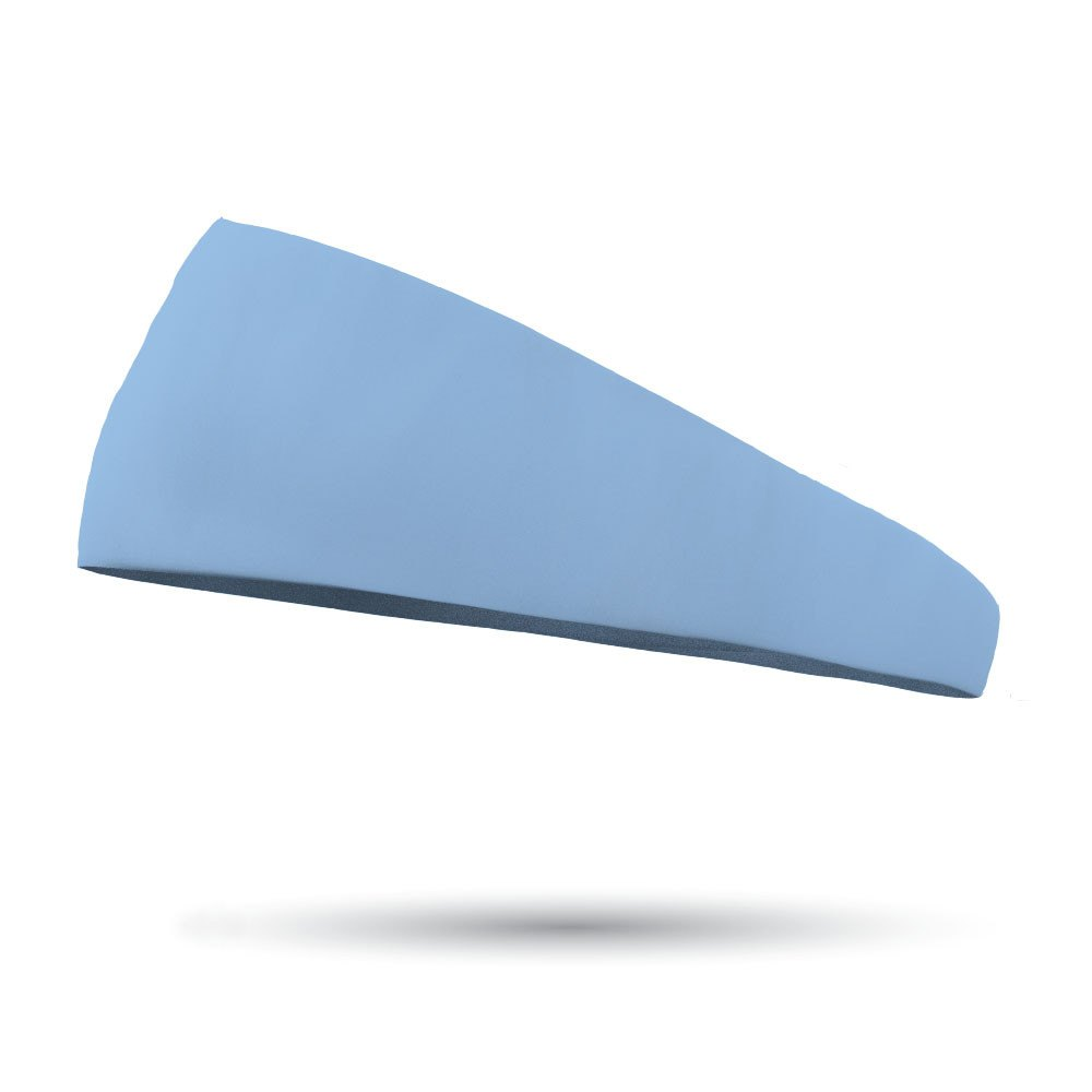 "AlyFitMom Collection Solid Color 4"" Tapered Wicking Headband"