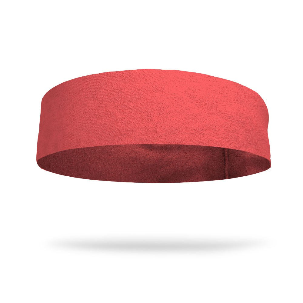 "Birthday Solid Color 4"" Flat Back Wicking Headband"