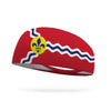 St Louis Flag Performance Wicking Headband