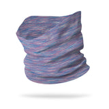 Static Mauve Blue Neck Gaiter
