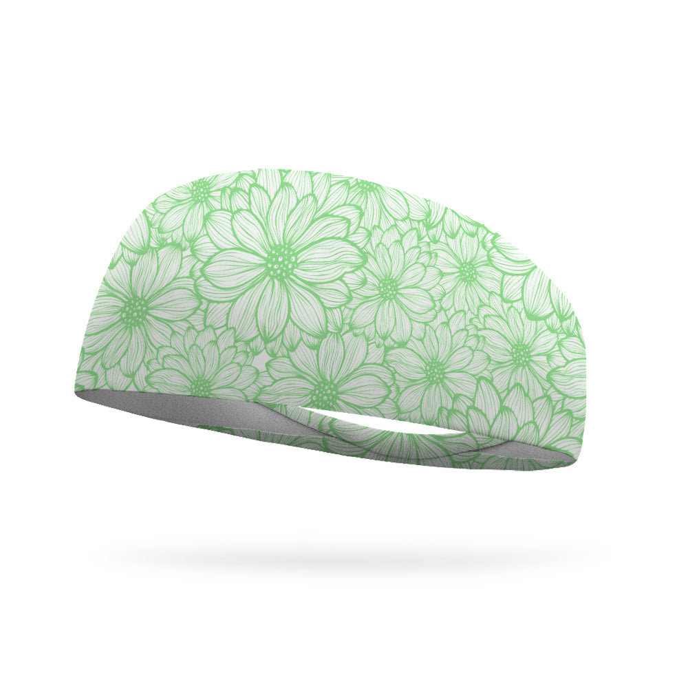 Summer Bloom Performance Wicking Headband