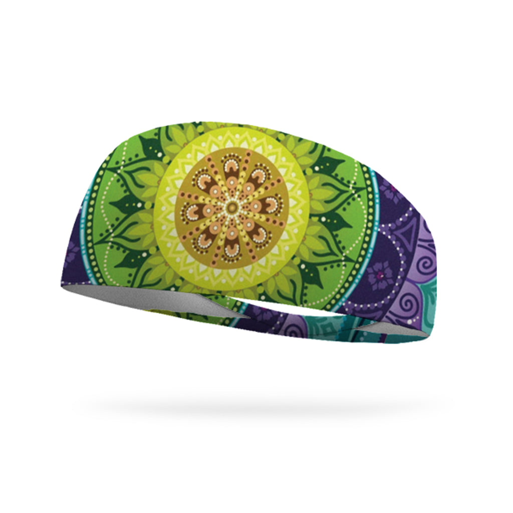 Summer Mandala Performance Wicking Headband