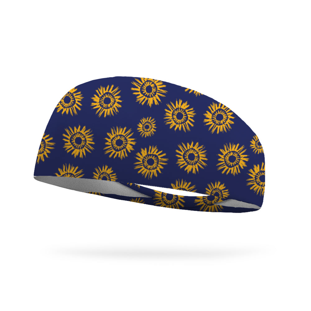 Sunny Sunflower Wicking Headband