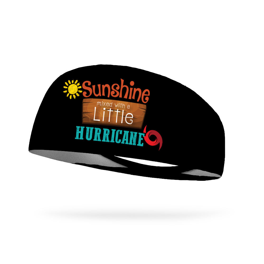 Sunshine Mixed With A Little Hurricane Wicking Performance Headband (Designed by Devann Murphy)