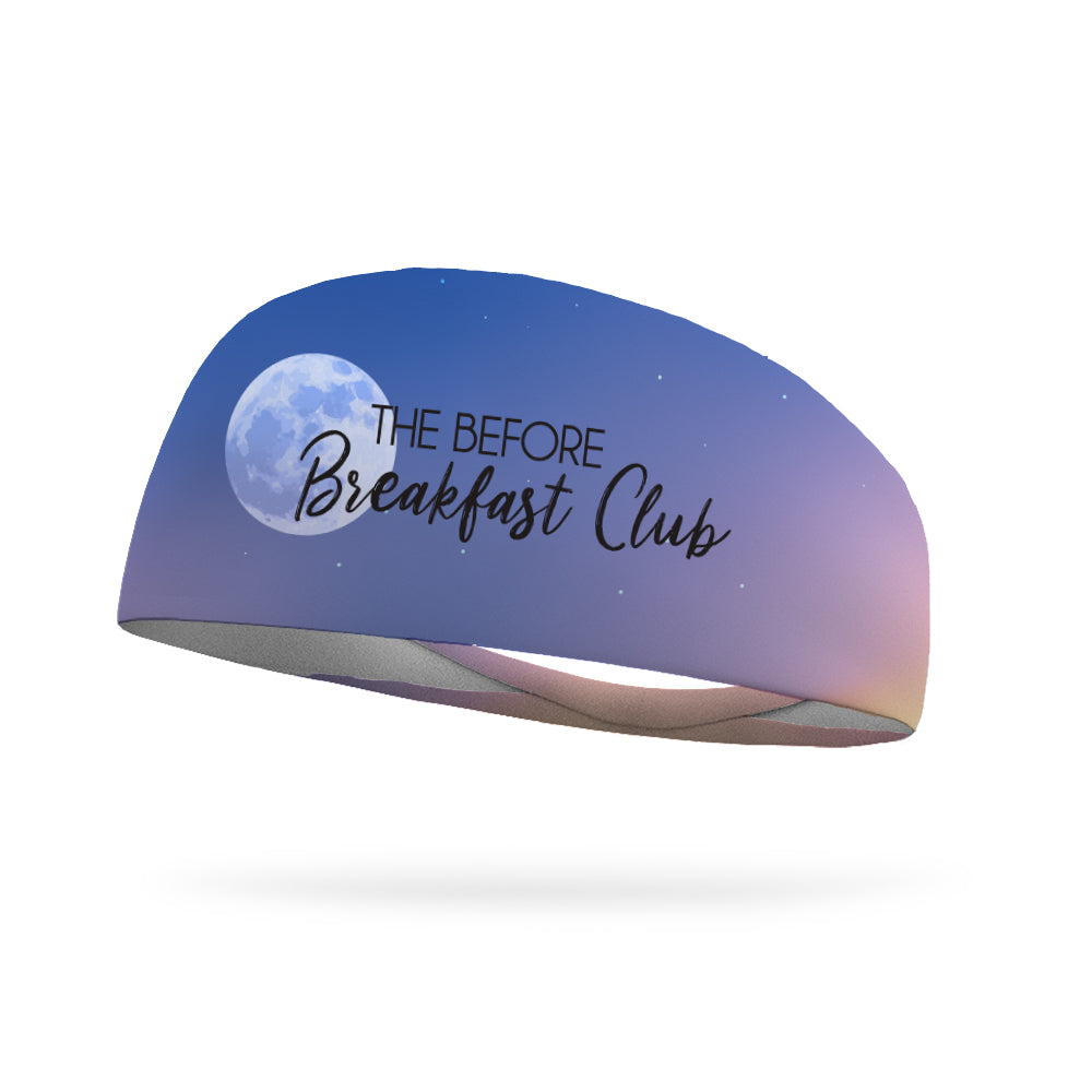 The Before Breakfast Club Wicking Performance Headband (Designed by Amy Penokie)
