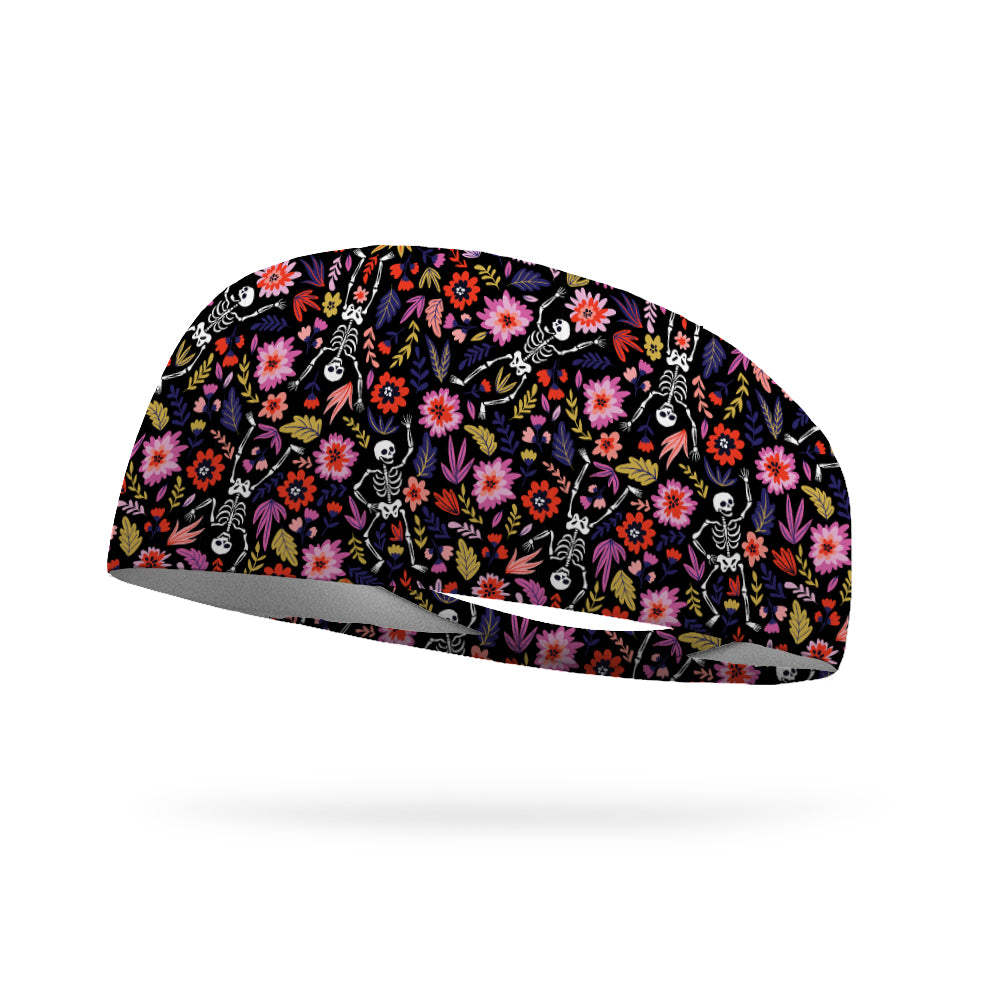 The Dancing Dead Wicking Performance Headband
