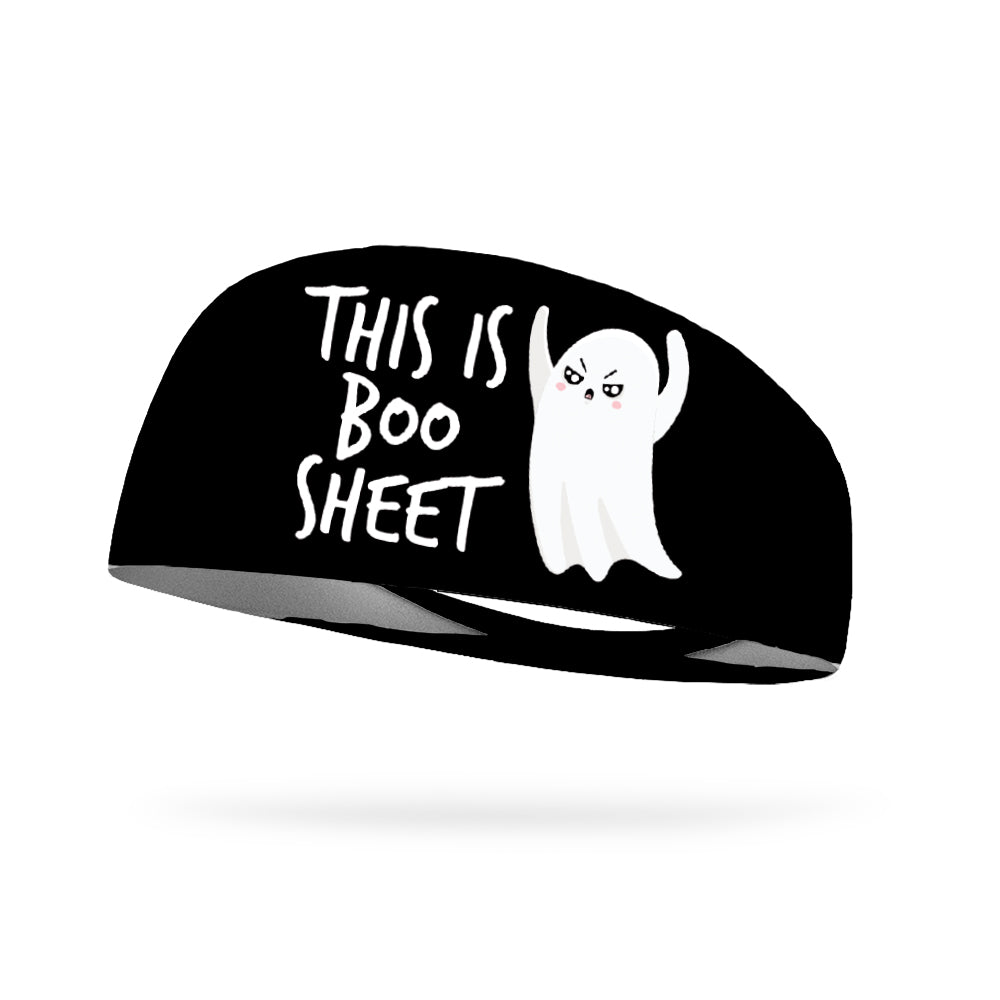 This Is Boo Sheet Wicking Performance Headband