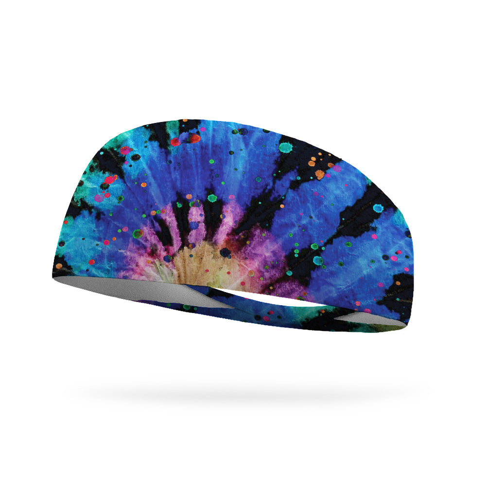 Tie Dye Celebration Wicking Performance Headband