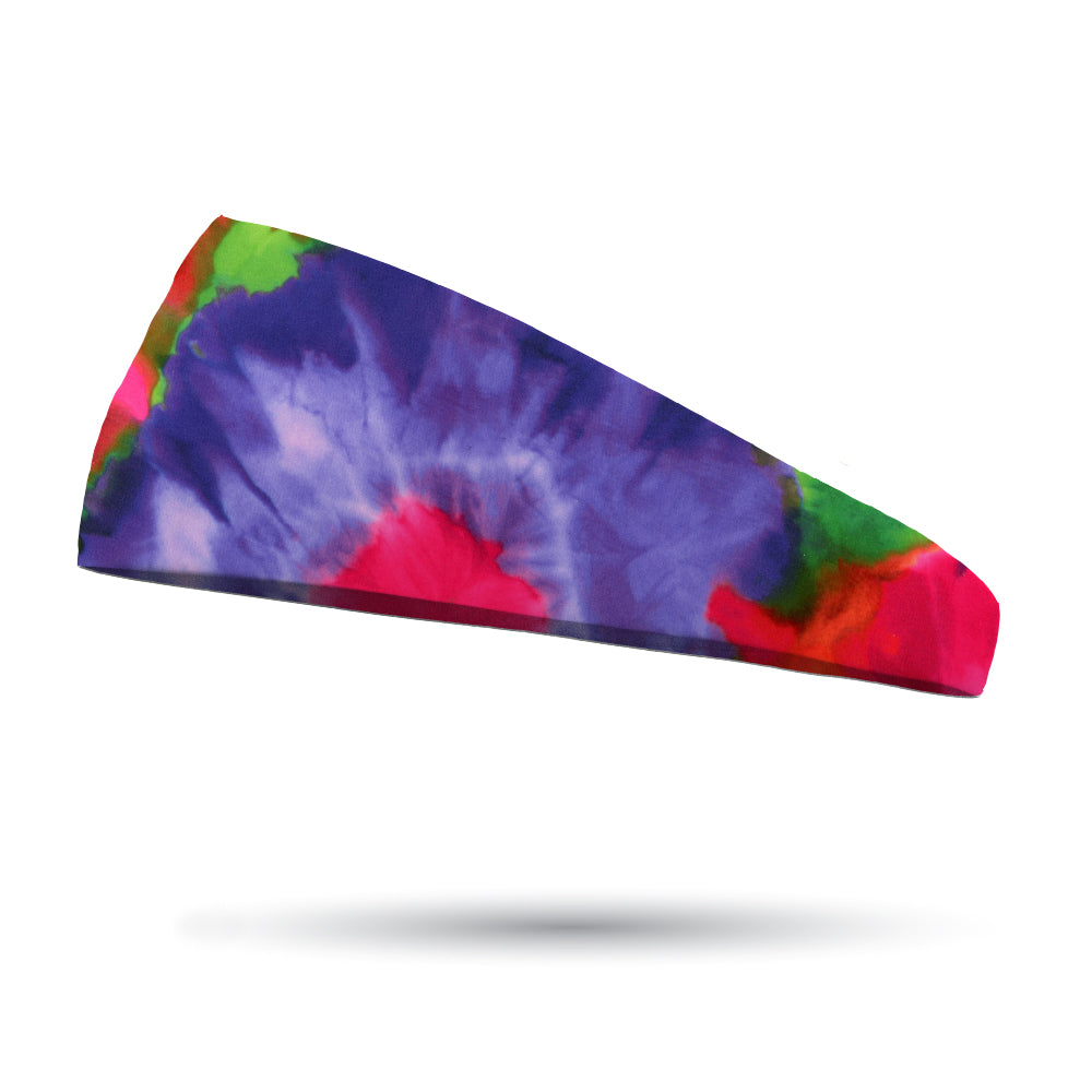 Fashion Tie Dye Groovy Headband