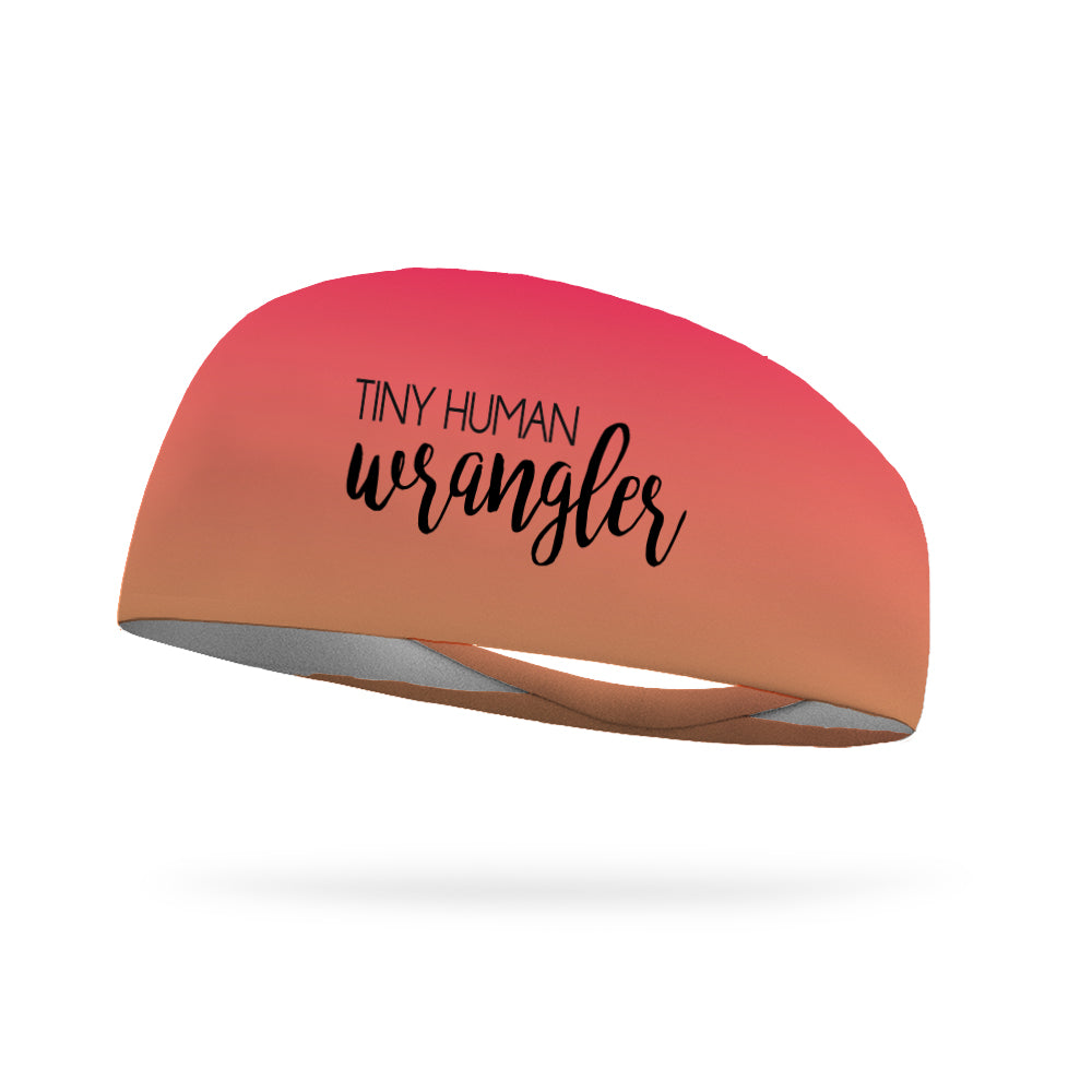 Tiny Human Wrangler Performance Wicking Headband