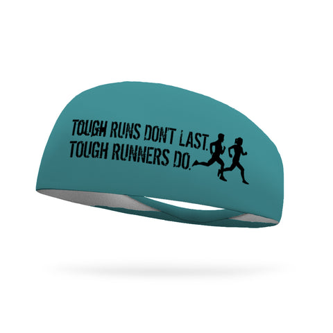 Ombre Blue Wicking Performance Headband