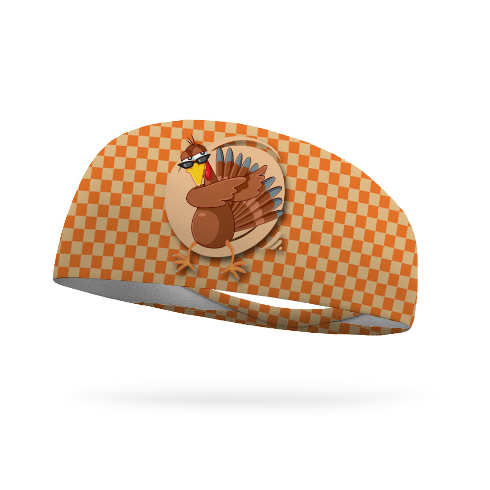 Turkey Dab Wicking Performance Headband