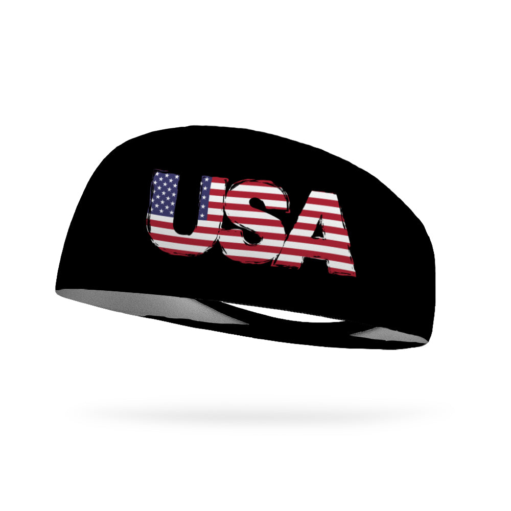 USA Wicking Performance Headband
