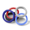 USA Jersey Pack of 5 Hair Ties