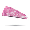 Valentine Tie Dye Wicking Headband