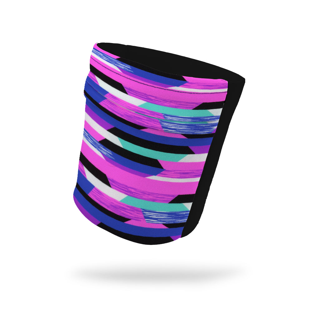 "Valley Girl Fashion and Black Wicking Armband 6.22"" Height"