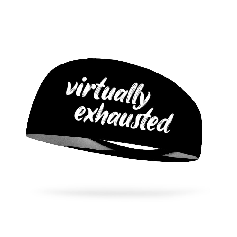 Virtually Exhausted Wicking Performance Headband