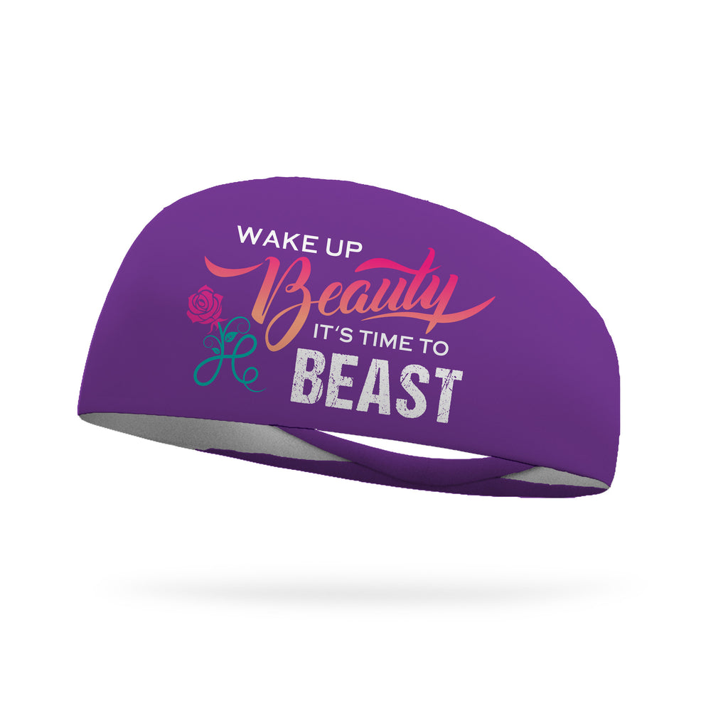 Wake Up Beauty It's Time to Beast Wicking Headband