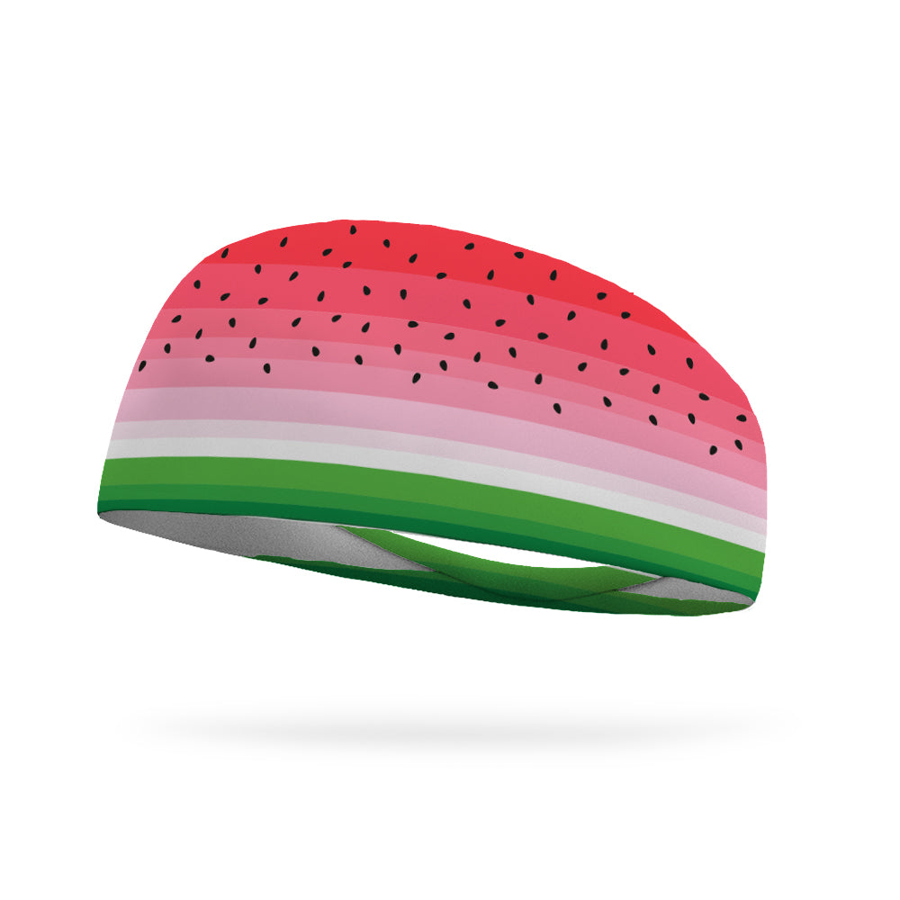 Watermelon Slice Performance Wicking Headband