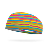 Wavy Colors Kids Wicking Headband