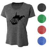 RUN West Virginia Wicking T-Shirt Bondi Wear