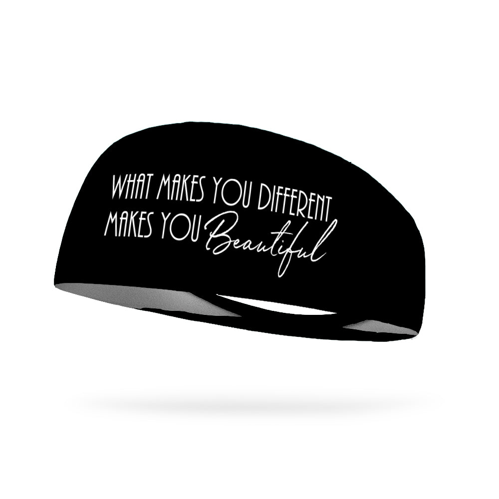 What Makes You Different Makes You Beautiful Wicking Performance Headband