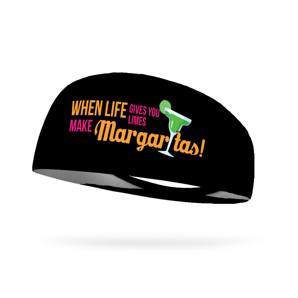 When Life Gives You Limes Make Margarita's Wicking Performance Headband (Designed by Tiffany Schrum)