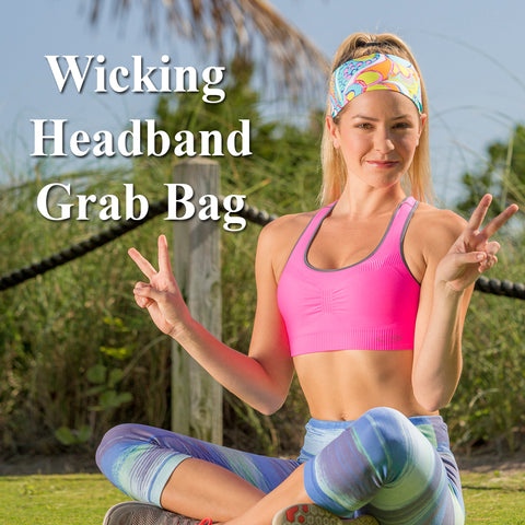 Flamingo Dance Wicking Performance Headband