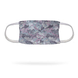 Winter Pink Camo Face Mask