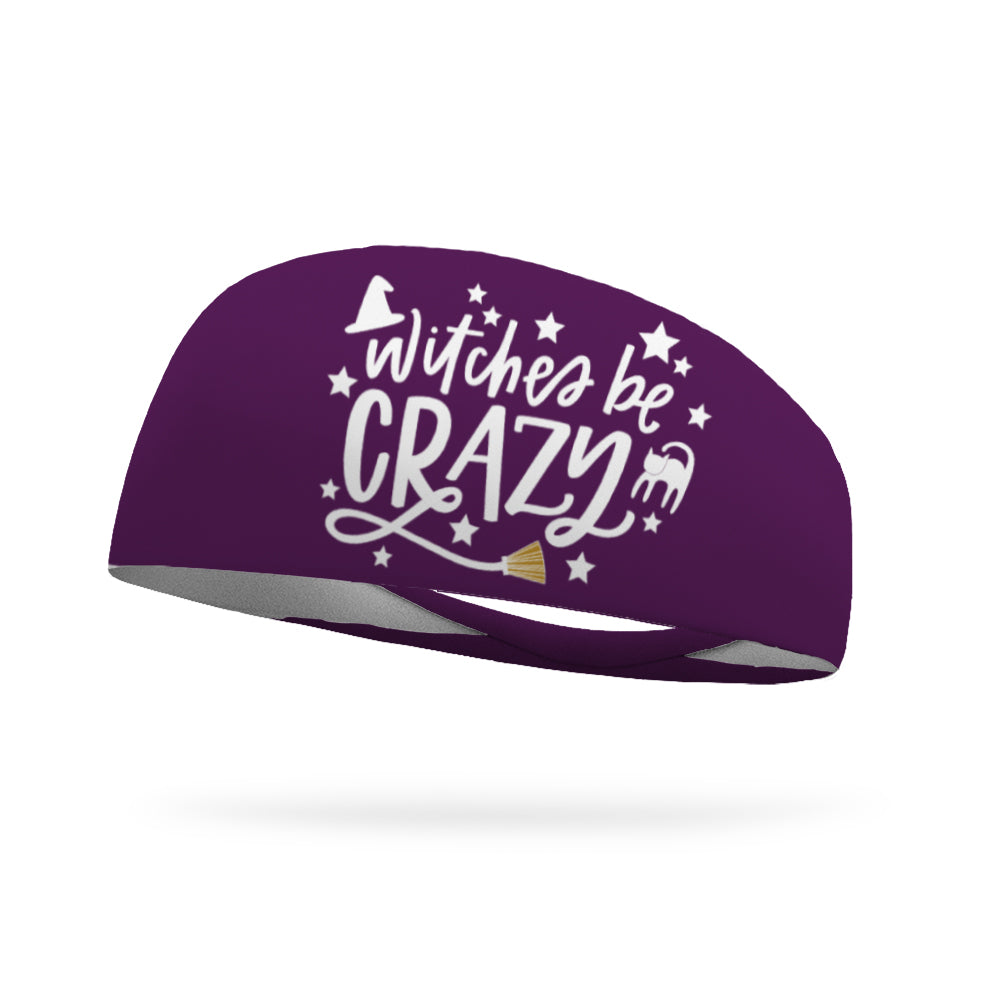 Witches Be Crazy Wicking Performance Headband