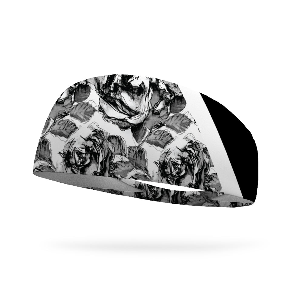 Work It Out Floral Wicking Performance Headband