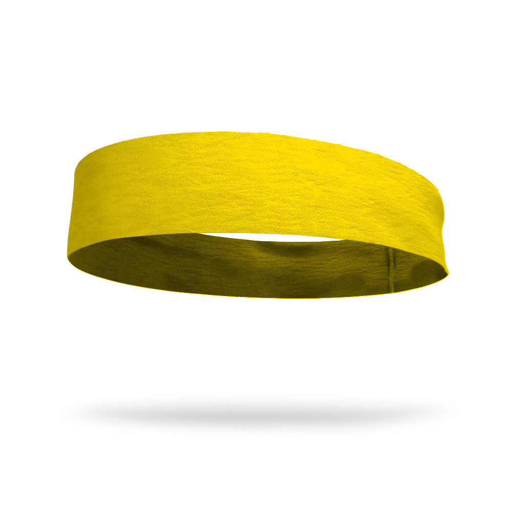 "Solid Color 4"" Flat Back Wicking Headband"