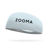Zooma Wicking Headband - Midnight Black Logo