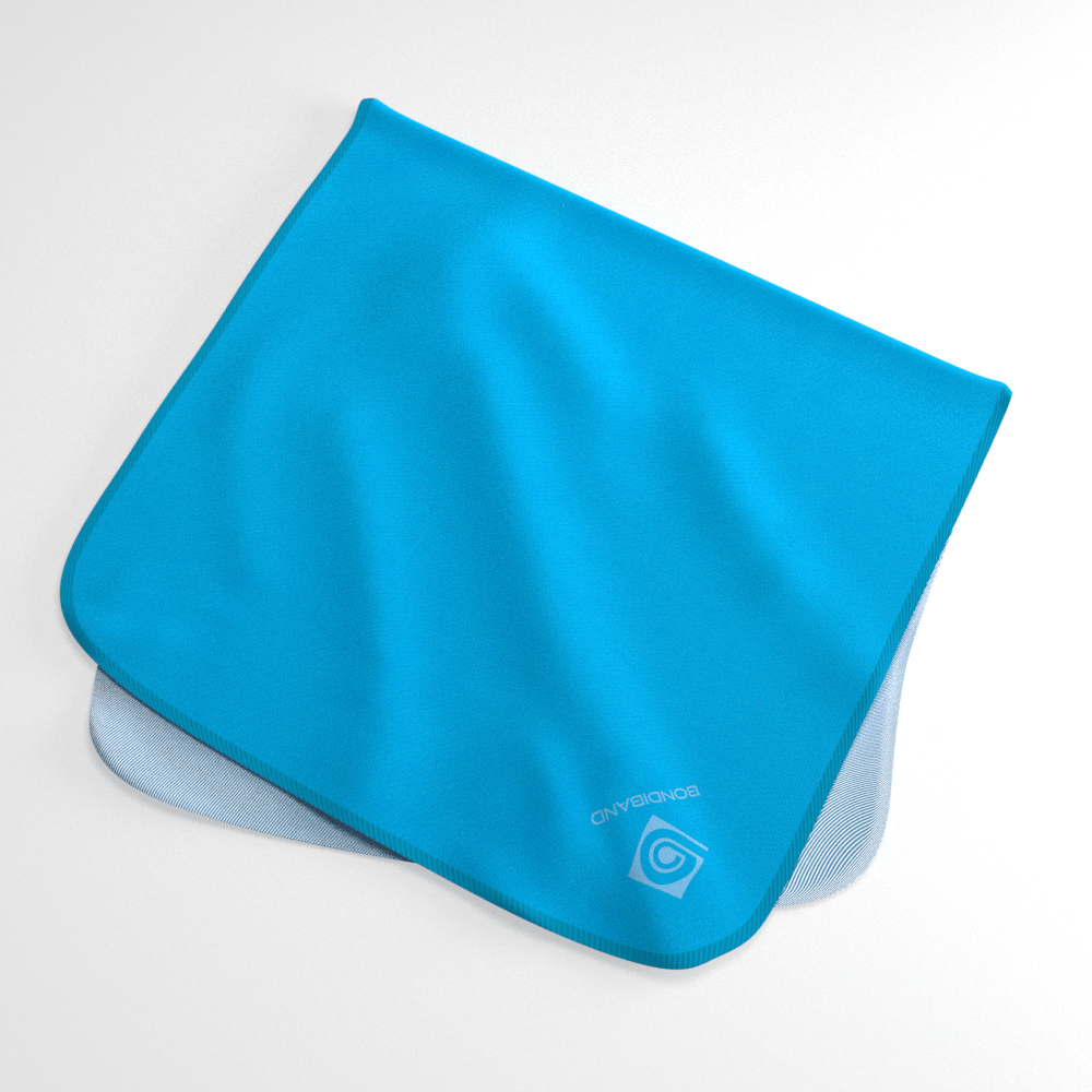 Aqua Marine Wicking Sweat Towel