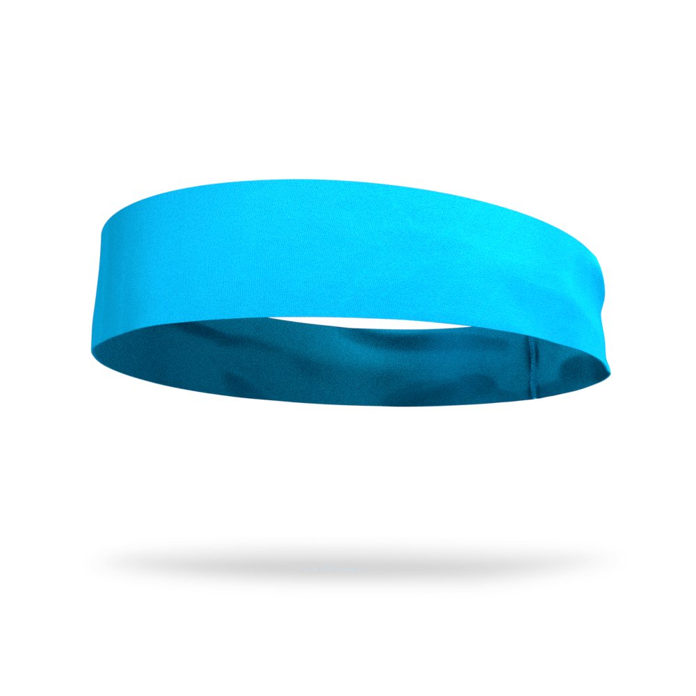 Aqua Marine Solid Color Headband