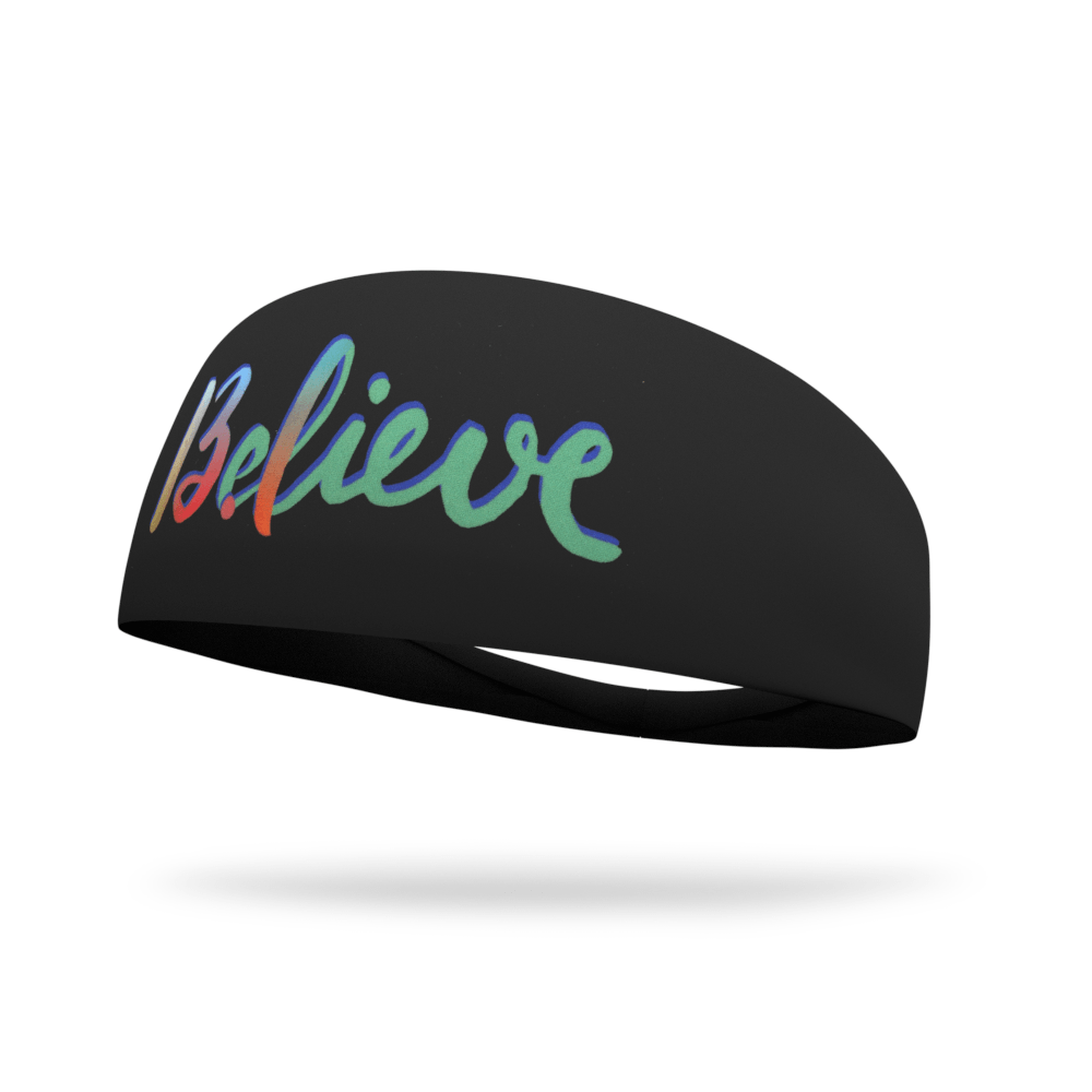 Believe Dyed Wicking Headband