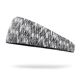 Black and White Static Fashion Performance Headband - Bondi Band