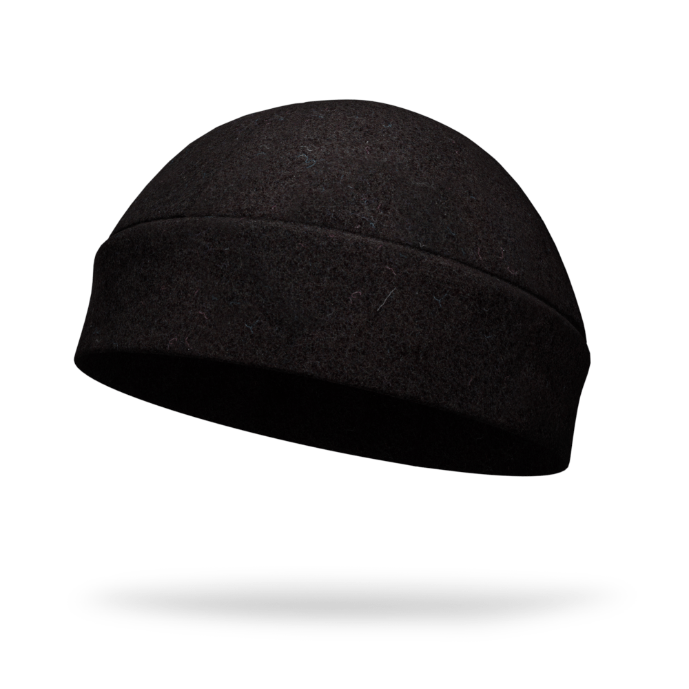 Black Performance Fleece Hat