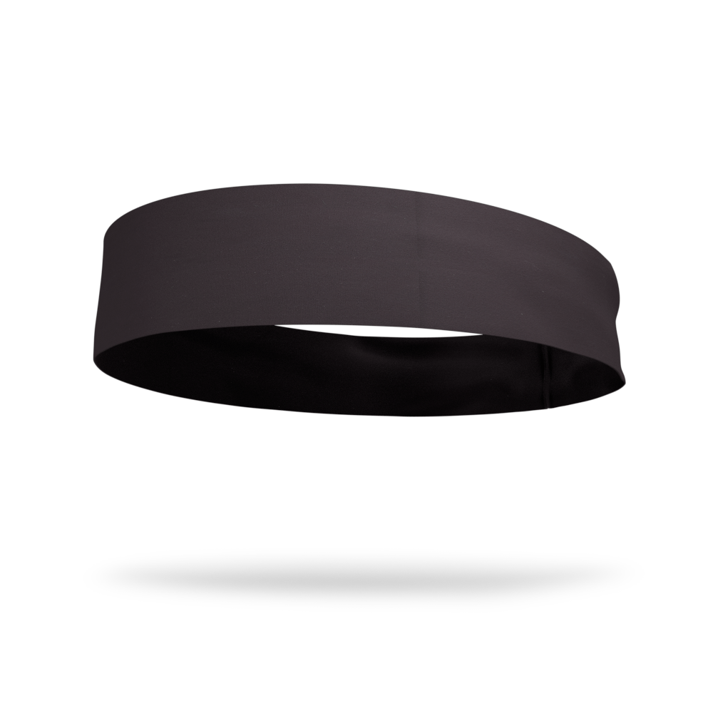 Midnight Black Solid Color Headband