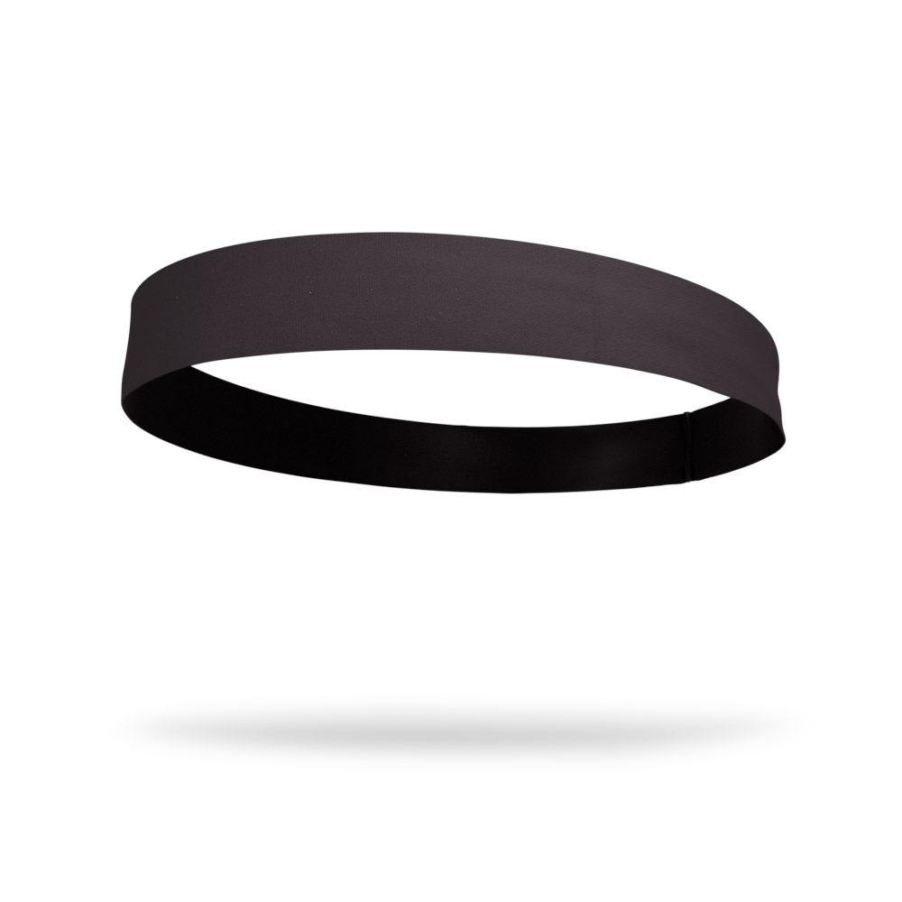 Black Solid Color Headband