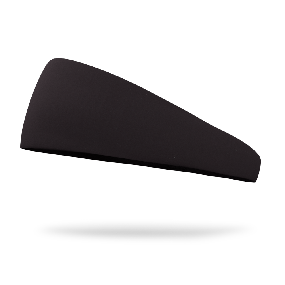 Midnight Black Kids Wicking Headband
