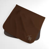 Espresso Brown Wicking Sweat Towel
