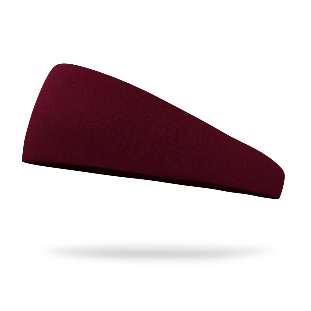 Sangria Burgundy Solid Color Headband
