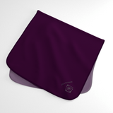 Eggplant Wicking Sweat Towel