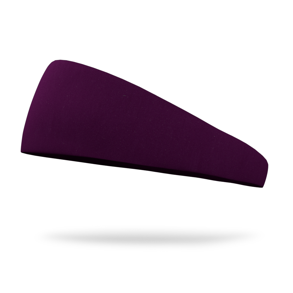 Eggplant Solid Color Headband
