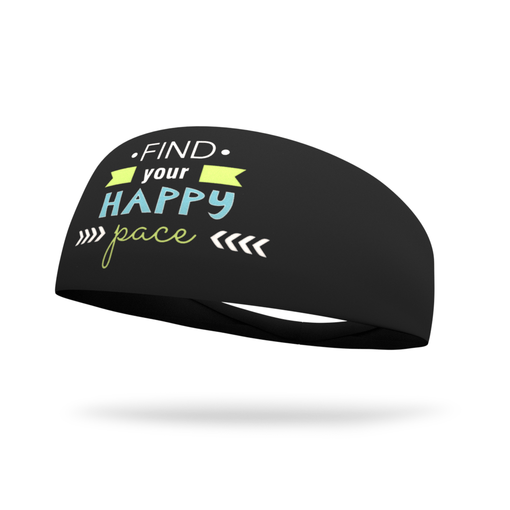 Find Your Happy Pace Dyed Wicking Headband